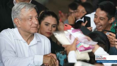 Photo of AMLO en el top cinco de presidentes con mayor aceptación