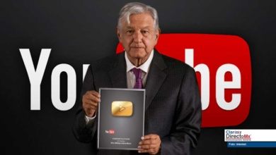 Photo of Y el botón de oro de Youtube es paraaaa… AMLO?