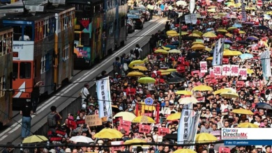 Photo of Manifestación en Hong Kong