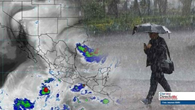"Photo of Lluvias intensas en Oaxaca y Chiapas, en vigilancia tormenta ""Barry"""