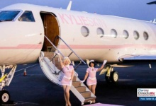 Photo of Personaliza jet privado Kylie Jenner para promocionar sus productos