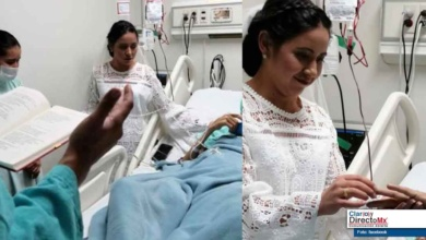 Photo of Una historia de amor, se realiza una boda en el Hospital General de Zacatecas