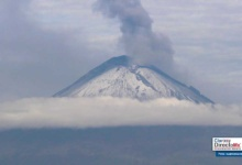 Photo of Registra volcán Popocatépetl 26 explosiones leves y 4 moderadas