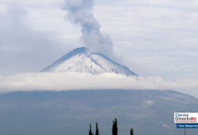 Photo of Sigue activo el volcán Popocatépetl, registra seis explosiones