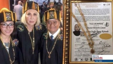 Photo of Casi infartan usuarios de twitter por el Honoris Causa a Laura Bozzo