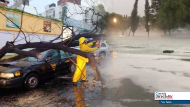 Photo of Se registra en Puebla fuerte lluvia y granizo