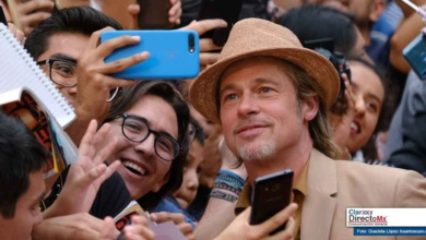 Photo of Brad Pitt paraliza plaza comercial en México