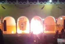 Photo of Pobladores incendian Palacio Municipal de Oxkutzcab, Yucatán