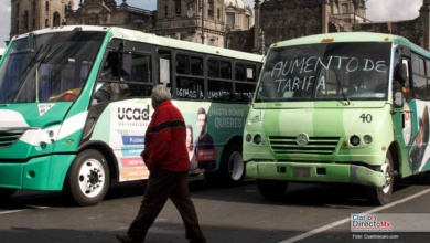 Photo of Caos en la  CDMX, transportistas exigen alza a la tarifa