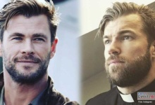 Photo of El doble del actor Chris Hemsworth es sacerdote