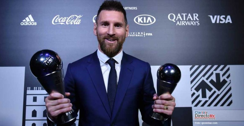 Messi ganó el premio The Best