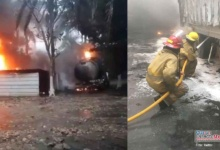 Photo of En Tabasco, arde bodega con 20 mil litros de combustible huachicoleado
