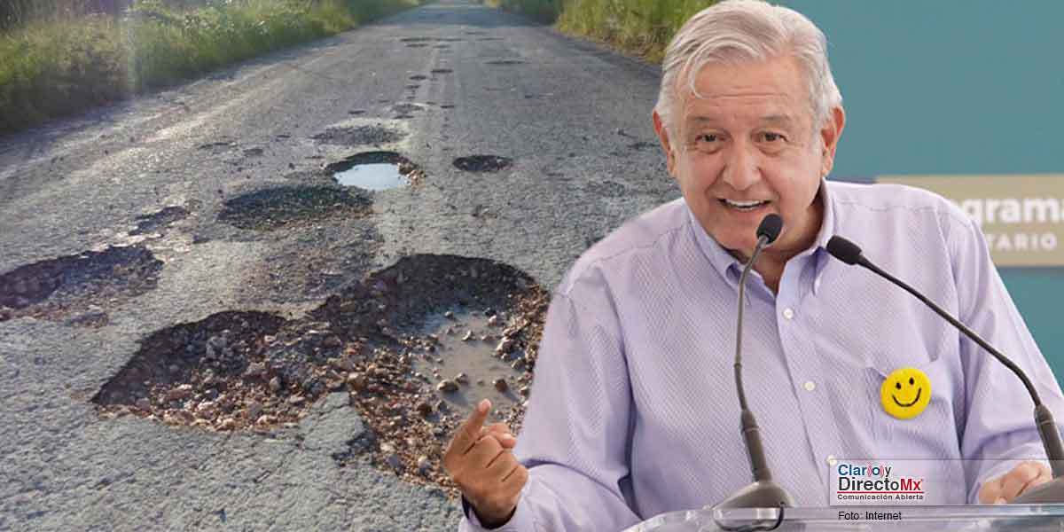 Photo of Exige AMLO a gobernadores reparen sus carreteras