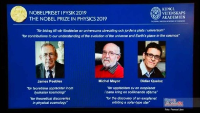 Photo of Ganan el Nobel de Física tres expertos del cosmos