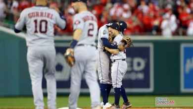 Photo of Astros arruinan el regreso de la Serie Mundial a Washington