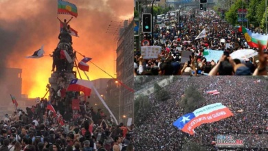 "Photo of ""La marcha más grande de la historia de Chile"" a penas empieza"
