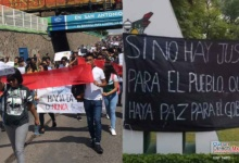 Photo of Se moviliza la comunidad estudiantil en Celaya en protesta por inseguridad
