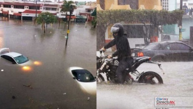 Photo of Lluvia de 7 horas ahoga a Mazatlán, Sinaloa