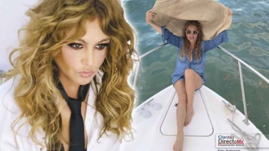 Photo of Para Paulina Rubio, lujo es estar desnuda en una playa