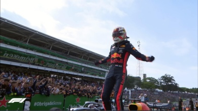 Photo of Max Verstappen primero en el GP de Brasil