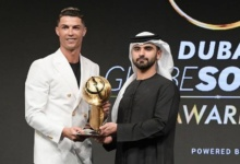 Photo of Cristiano Ronaldo gana el Globe Soccer 2019