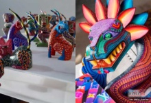 Photo of Alebrijes ponen el toque tradicional oaxaqueño a exclusivos baúles de Louis Vuitton.