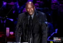Photo of El emotivo discurso de Michael Jordan en el memorial a Kobe
