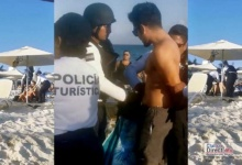 Photo of Policía Turística de Playa del Carmen, agrede a turistas mexicanos en Playa Mamitas