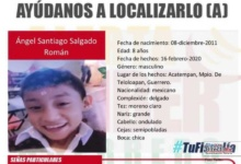 Photo of Teloloapan se moviliza para localizar al niño Ángel Santiago de 8 años