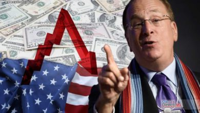 "Photo of Advierte Larry Fink CEO de ""BlackRock"", el panorama económico de EEUU va a empeorar"
