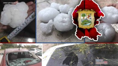 Photo of Super granizo en Coahuila, deja asombro por su gran tamaño y causa afectaciones materiales
