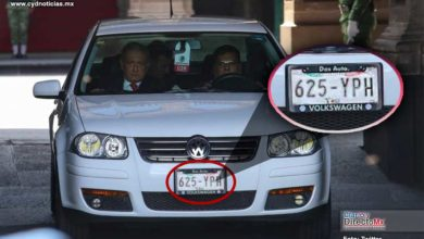Photo of Las placas del Jetta de AMLO con doble registro, revelan el caos del REPUVE