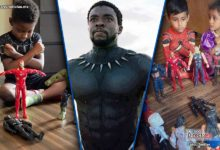 Photo of Niños le rinden tributo a Chadwick Boseman haciendo funerales para Black Panther