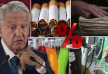 Photo of Arranca 2021 con 3% de aumento a cigarros, refrescos y gasolina, tortilla no subirá de precio