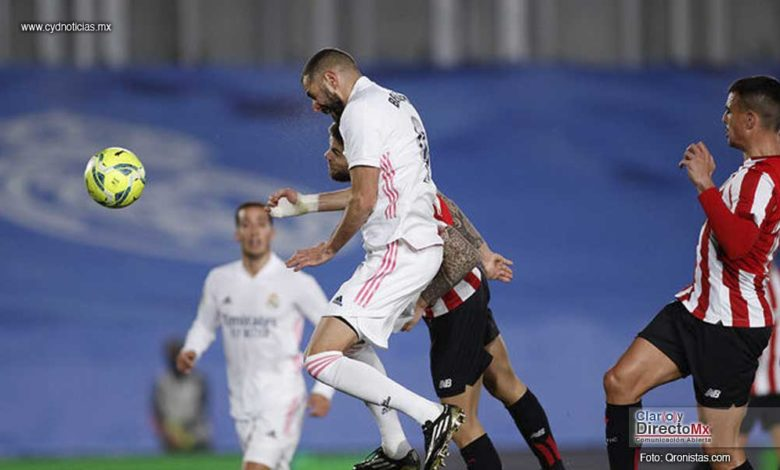 Real Madrid se impuso 3-1 al Athtletic de Bilbao