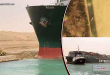 Photo of Se atora en el Canal de Suez el gigantesco buque MV Ever Given y atasca el comercio mundial